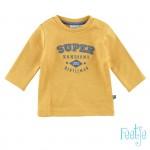 Okergele sweater - super handsome little gentlemen