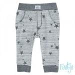 Grijs melé babybroekje met sterren - stars grey