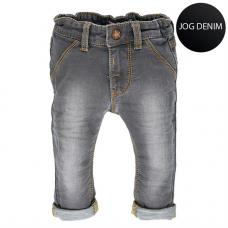 Grijsbruin jeansbroekje - grey denim