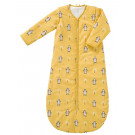Gele winterslaapzak pinguïn - Sleeping bag zipped sleeve winter pinguin