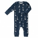 Pyjama met giraffen  - maat 0-3 maand (Geboortelijst Felix D.M.)