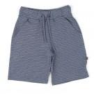 Blauw- witte bermuda short - night blue shorts cool