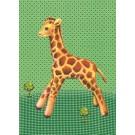 Postkaart giraf