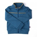 Sportief retro vestje / trui met pijlenmotief - Jacket James arrow jacquard
