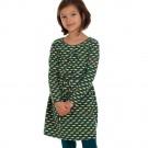 Kleed met vrolijke kleurtjes - triangle dress dahlia (stapelkorting)