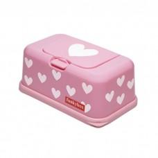 Funkybox roze met hartjes - groot