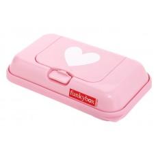 Funkybox roze met hartjes - klein