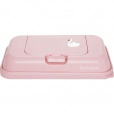 Funkybox roze met zwaantje - klein