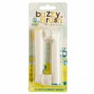 2 vervangkopjes voor elektrische tandenborstel buzzy brush