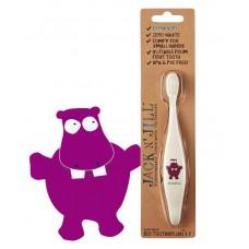 Tandenborstel nijlpaard