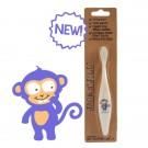Tandenborstel aap