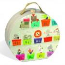 27- delige puzzel: Reuze puzzel alfabet trein dieren