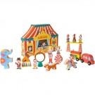 21- delige houten circus (Geboortelijst Moon B.)