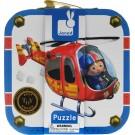 Koffer met 4 puzzels : de reddingshelikopter van Pierre (Geboortelijst Noor V.K.)