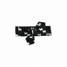 Haarband : lama black and white