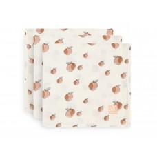 Set van 3 tetradoeken - Peach