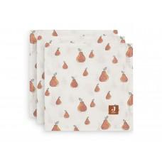 Set van 3 tetradoeken - pear