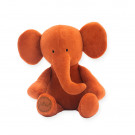 Knuffel velourse olifant roest