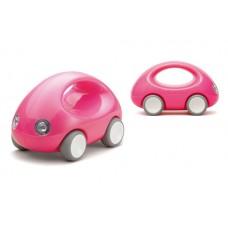 Roze duwauto