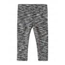 Zacht wit- grijs- zwarte broek - grey white knite