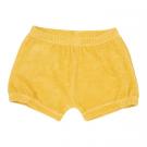 Geel sponsen shortje - babyshort sunrise - maat 50-56 (Geboortelijst Lou B.)