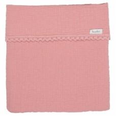 Elba deken oud roze - Elba lace old pink