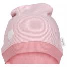 Roze gestreept mutsje - palmbeach baby had blush pink