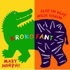 Flap en klap boek de wilde dieren : krokofant - Mary Murphy