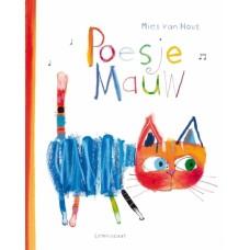 Prentenboek + cd : Poesje miauw - Mies Van Hout