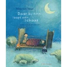 Prentenboek + cd : Daar buiten loopt een schaap - Mies van Hout