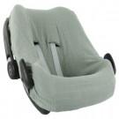 Beschermhoes autostoel bliss olive - Hoes autostoel pebble (plus)/rock bliss olive