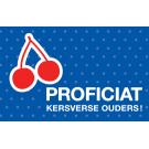 Wenskaart met kersjes - Proficiat kersverse ouders!