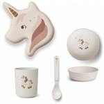 Unicorn eetset creme de la creme - limited edition
