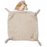 Knuffeldoekje unicorn- Agnete cuddle cloth sobet rose