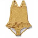 Amara swimsuit - Confetti yellow mellow