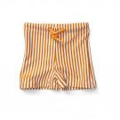 Otto swim pants seersucker mustard/white