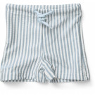Otto swim pants seersucker sea blue/white