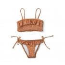 Riley bikini set - Confetti terracotta
