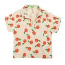 Gloria blouse muslin clementines (stapelkorting)