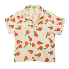 Gloria blouse muslin clementines