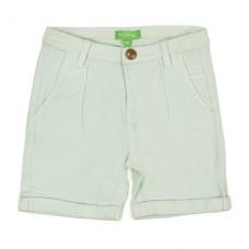Twill Shorts Estebald Clearly Aqua - licht muntkleurige bermuda