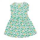 Dress Hanna aop jungle met tropische print - maat 62 (Geboortelijst Fran S.)