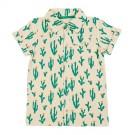 Shirt Jeff aop Cactus - hemdje met cactussen