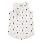 T-shirt Lize aop Ice Cream - shirtje met ijsjes - maat 104 (Geboortelijst Axelle R.)
