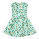 Dress Tiny aop Jungle - zwierkleedje met tropische print