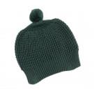 Donkergroene muts -  Hat dark green