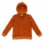 Roestbruine hoodie - Tristan hoody brown  (stapelkorting)