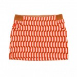 Rokje met rode blokjes - pippa short skirt blocks red (stapelkorting)