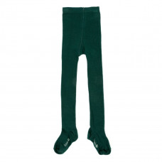 Donkergroene kousenbroek - Eva tights knitwear dark green