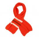 Oranje-rode sjaal - Scarf tangerine red